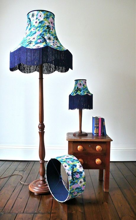 A Match Made In Heaven Zoe Darlington For Sheila Bownas Lamp Shades Standard Lamps Lampshades
