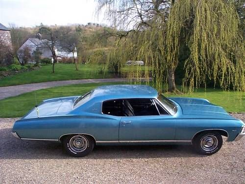 Chevrolet Caprice 2 Door Hardtop Sports For Sale 1967 On Car And