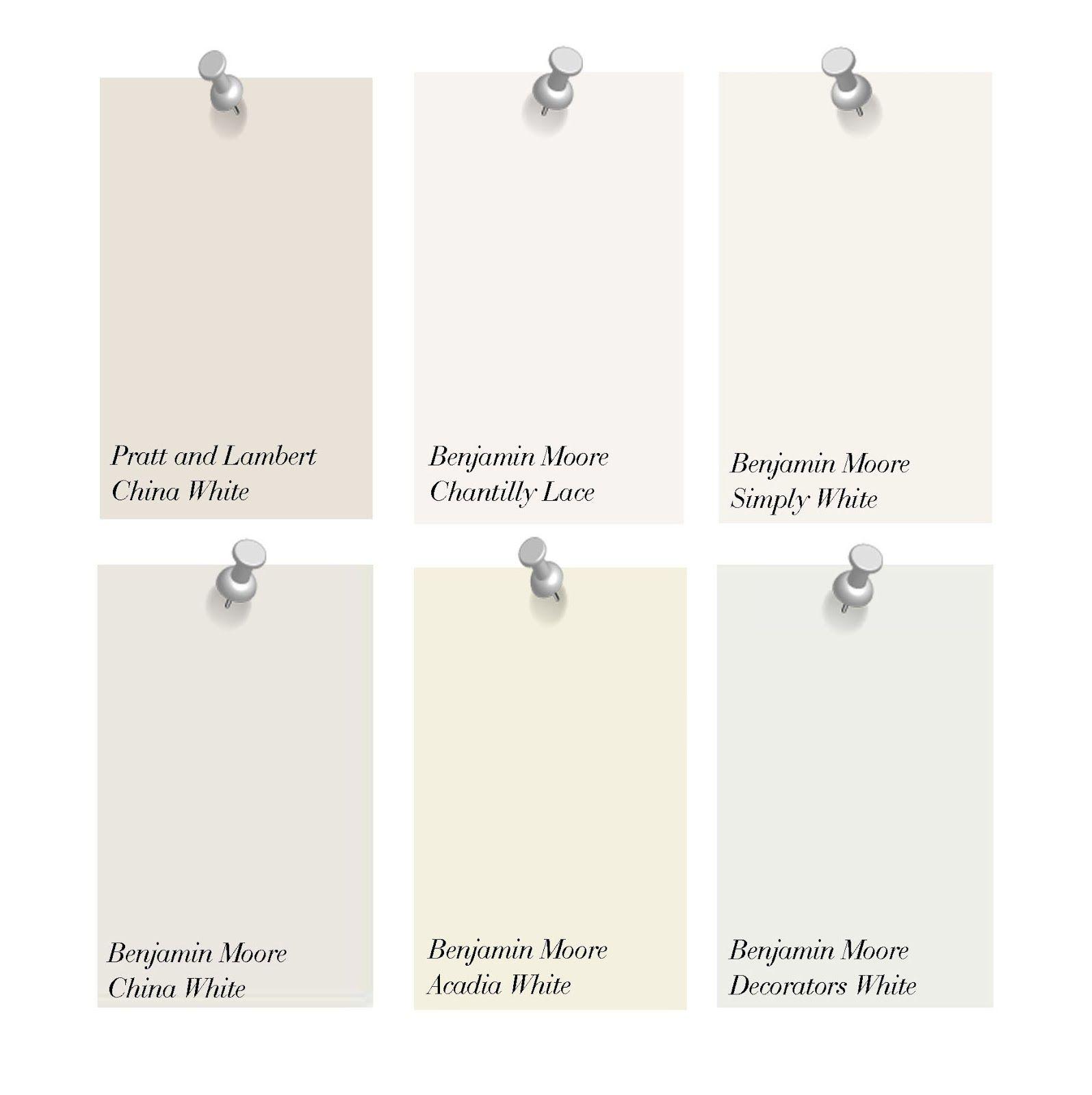 Benjamin Moore Off Whites 1 Kelly Wearstler China White By Pratt And Lambert 2 Maria