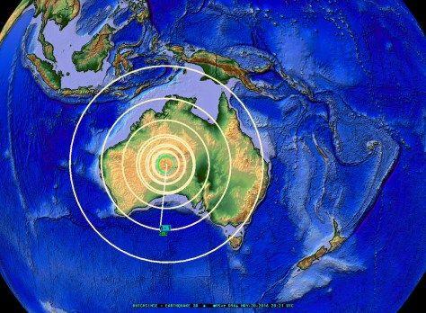 5/20/2016 — Extremely rare large M6.1 earthquake strikes Central Australia   Earthquakes activities. Earthquake. Earthquake prediction