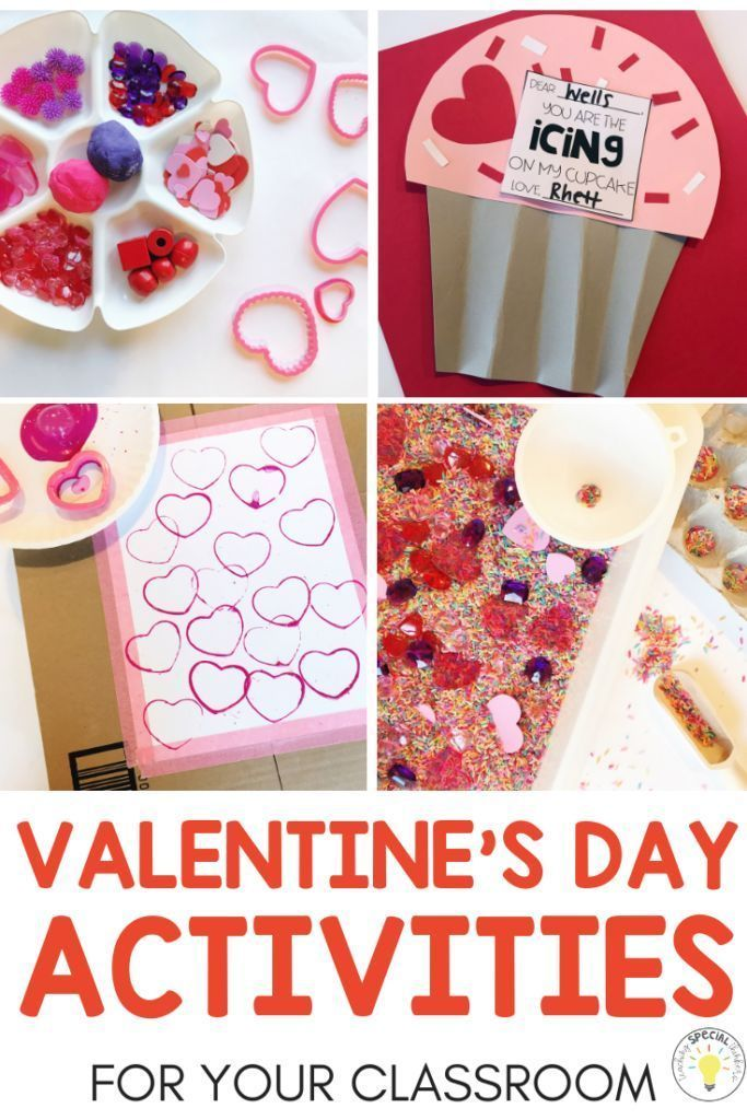 Need some fun activities for Valentines Day? Check out these hands on DIY crafts and sensory ideas