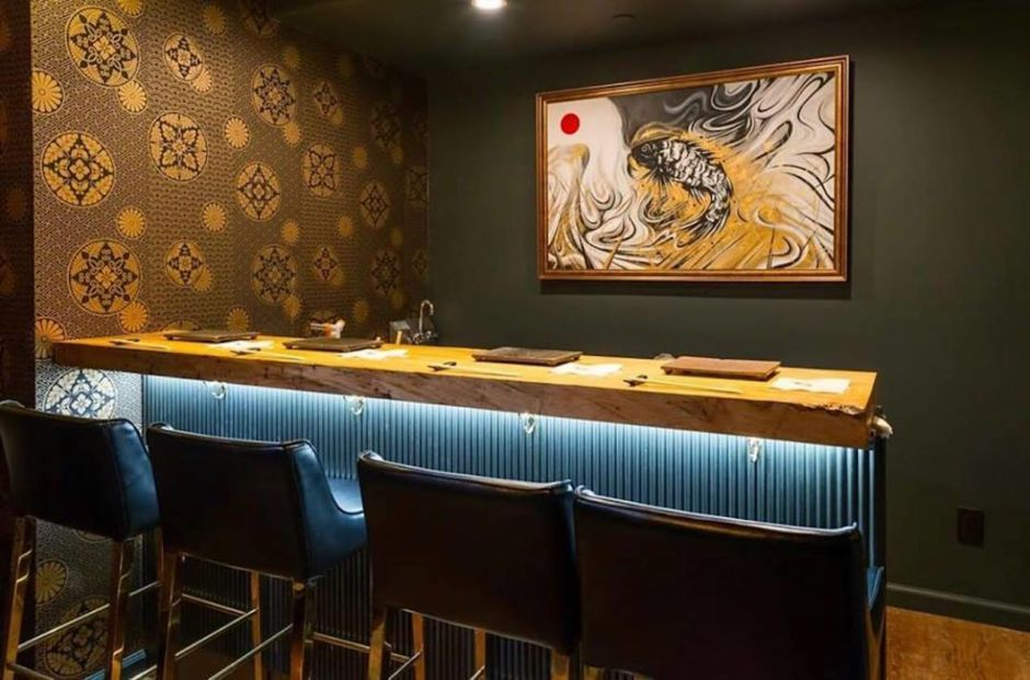 A Sushi Speakeasy With A Sake Vending Machine Just Opened In New