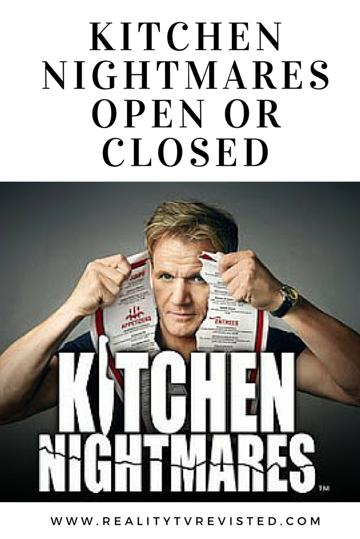Kitchen Nightmares - open or closed, all restaurants from Kitchen ...