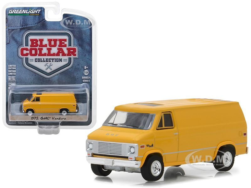 Buy Cheap 1972 Gmc Vandura Yellow Blue Collar Collection Series 4