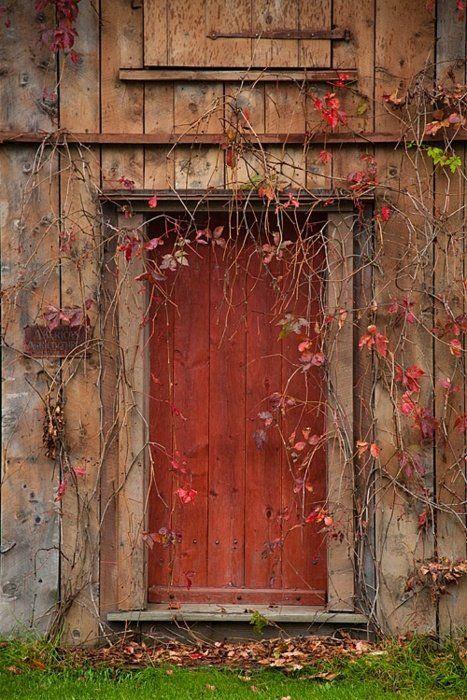 `autumn doorway