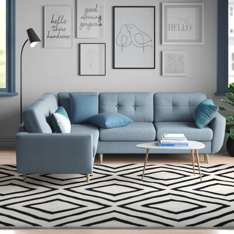 Anabella Sleeper Corner Sofa Bed 1000 In 2020 Corner Sofa Living Room Corner Sofa Design Corner Sofa Bed With Storage