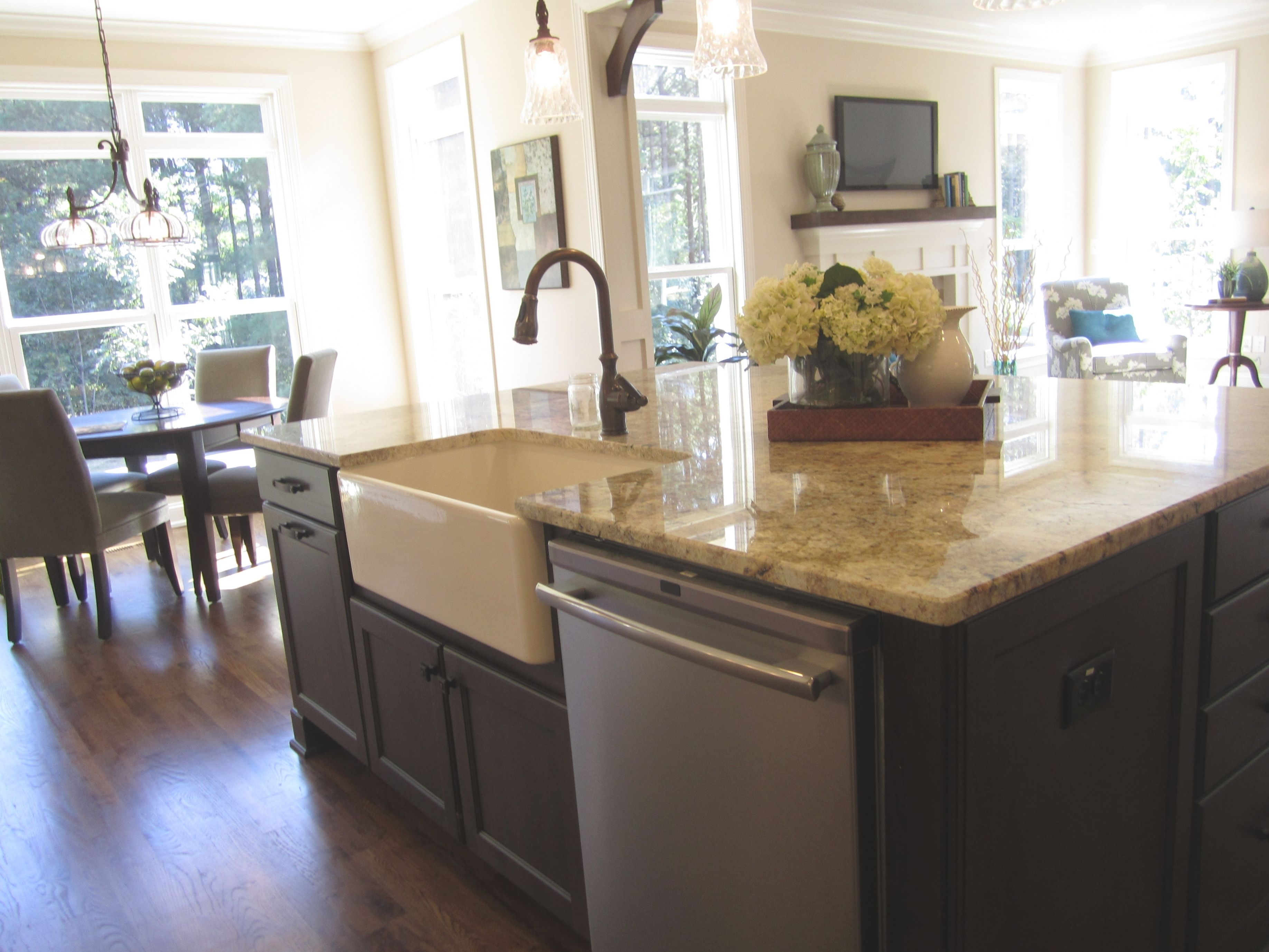 How To Decorate Kitchen Island With Sink https//festivalmontmelas ...