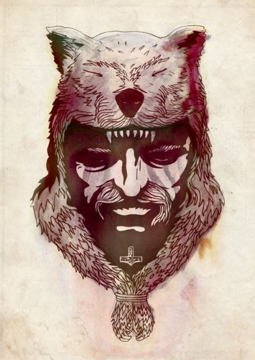 Úlfhéðinn (plural Úlfhéðnar) is an Old Norse term for a warrior with attributes parallel to those of a berserker, but with a lupine aspect rather than ursine; both terms refer to a special type of warrior capable of performing feats far beyond the abilities of normal people. Historically, this was attributed to possession by the spirit of an animal. Úlfhéðnar are mentioned in Vatnsdœla saga, Haraldskvæði and the Völsunga saga. The Ulfhednar were said to wear the pelt of a wolf upon their ...