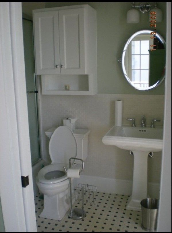 Exceptionnel Decorating · Pedestal Sink Cabinet Above Toliet   Google Search. Bathroom  SmallSmall ...