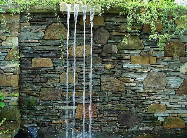 Cascading Water Feature   Google Search · Outdoor Water FeaturesWall ...