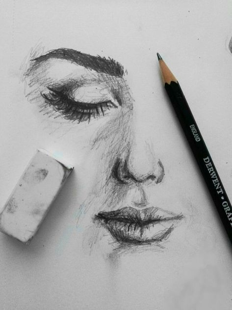 44 Ideas for easy art sketches pencil simple step by step