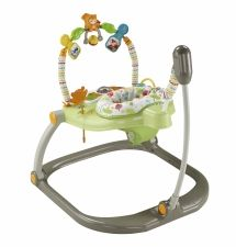 Fisher Price Rainforest Jumperoo Baby Walker Comfortable Rotating Seat K7198 Fisher Price Rainforest Jumperoo Baby Activity Center Jumperoo