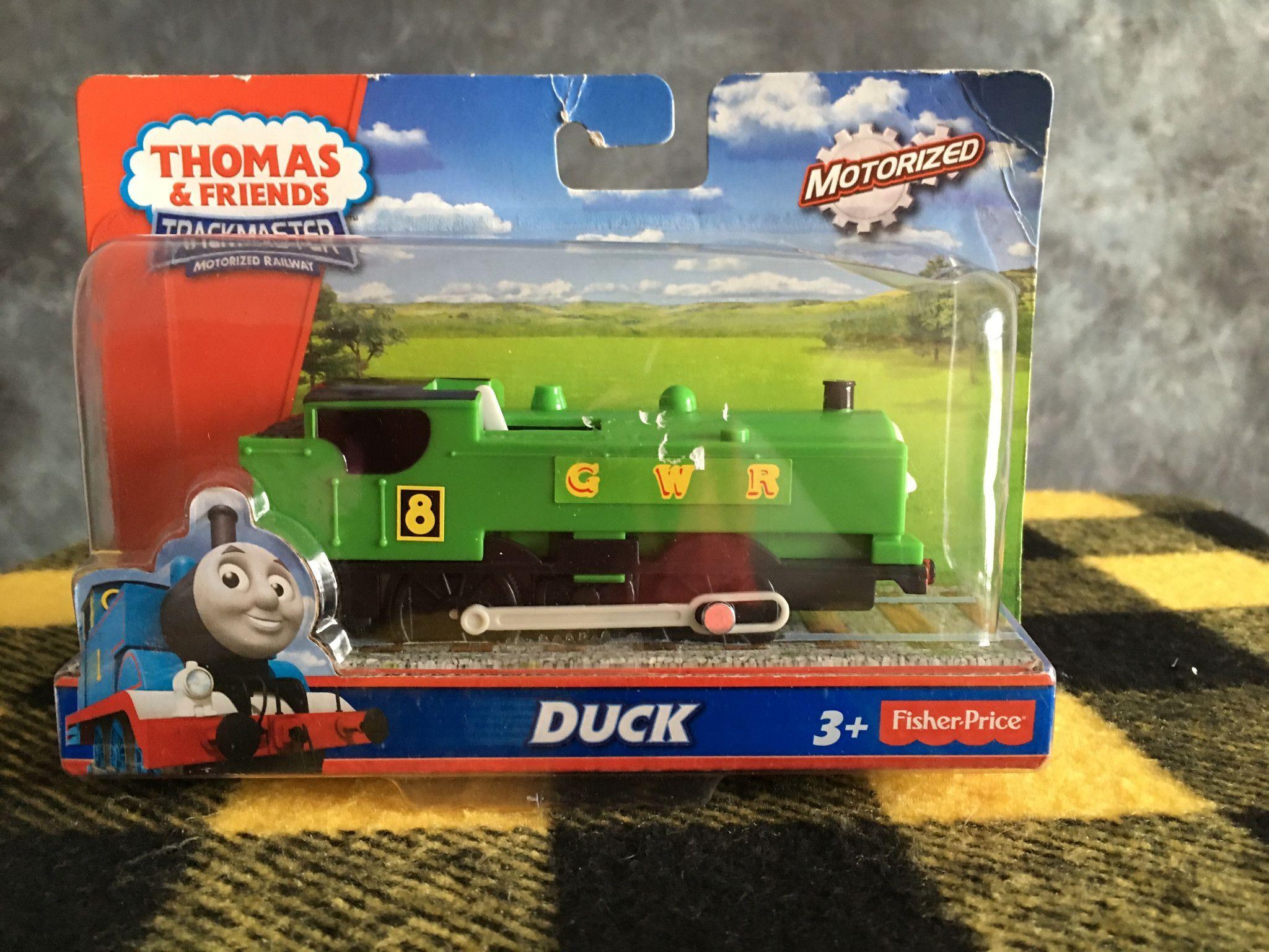 Thomas the tank engine wallpaper border - Thomas The Train Trackmaster Little Friends Duck