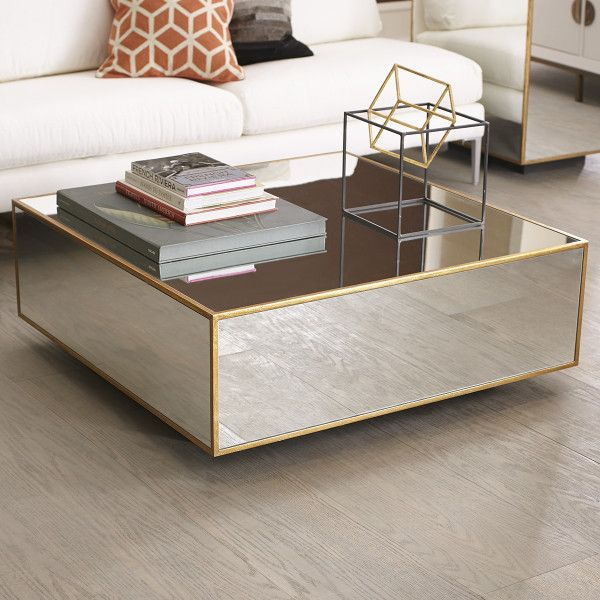 Most Elegant Gold Coffee Table : Gold Mirrored Coffee Table. - Floating Coffee Table Living Room Pinterest Coffee, Coffee