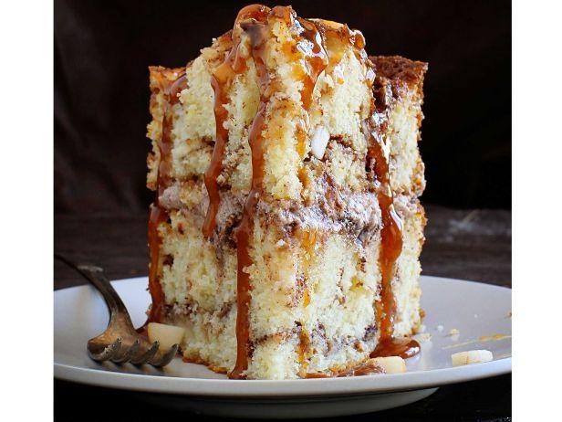 The Ultimate Fall Dessert Apple Cinnamon Layer Cake With Gooey Caramel Drizzle Desserts Caramel Apple Cinnamon Cake Recipes