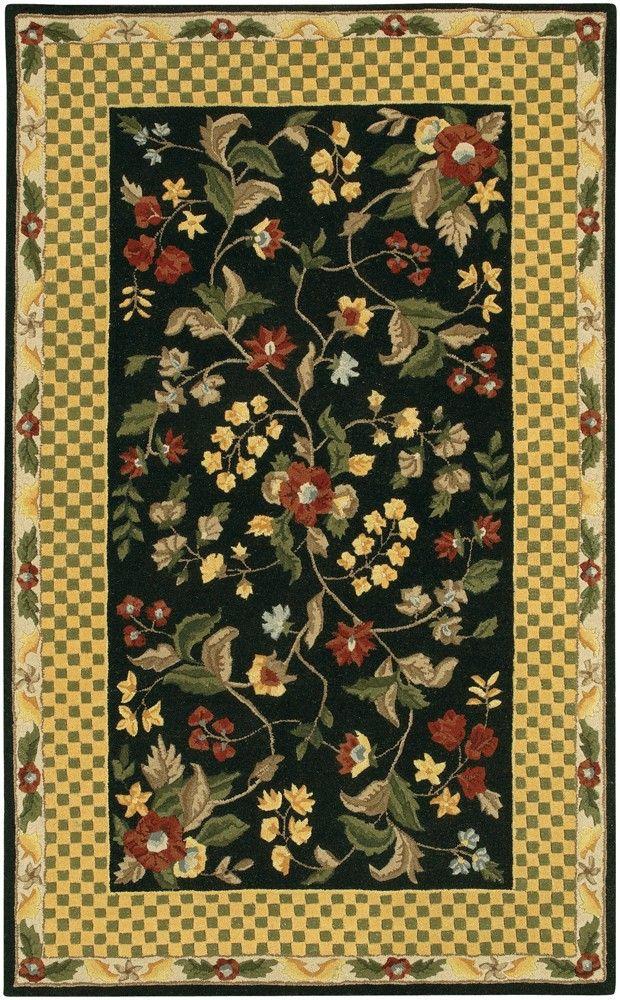 Chandra Metro Met532 Black Rug Chandra rugs