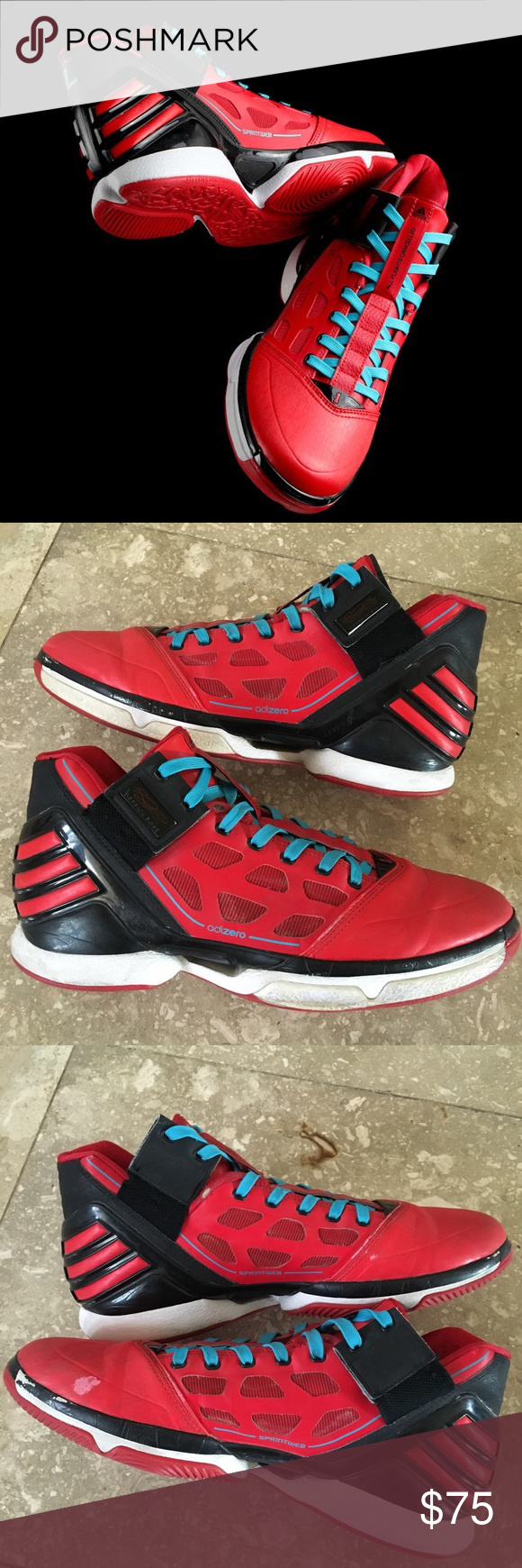53d6b20c55d2 Adizero Rose 2.0 Windy City Rose Adizero 2.0 by Adidas. Good used  condition