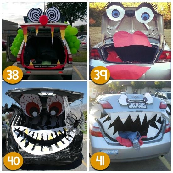 Easy Trunk Or Treat Ideas | From The Dating Divas #trunkortreatideasforcarsforchurch
