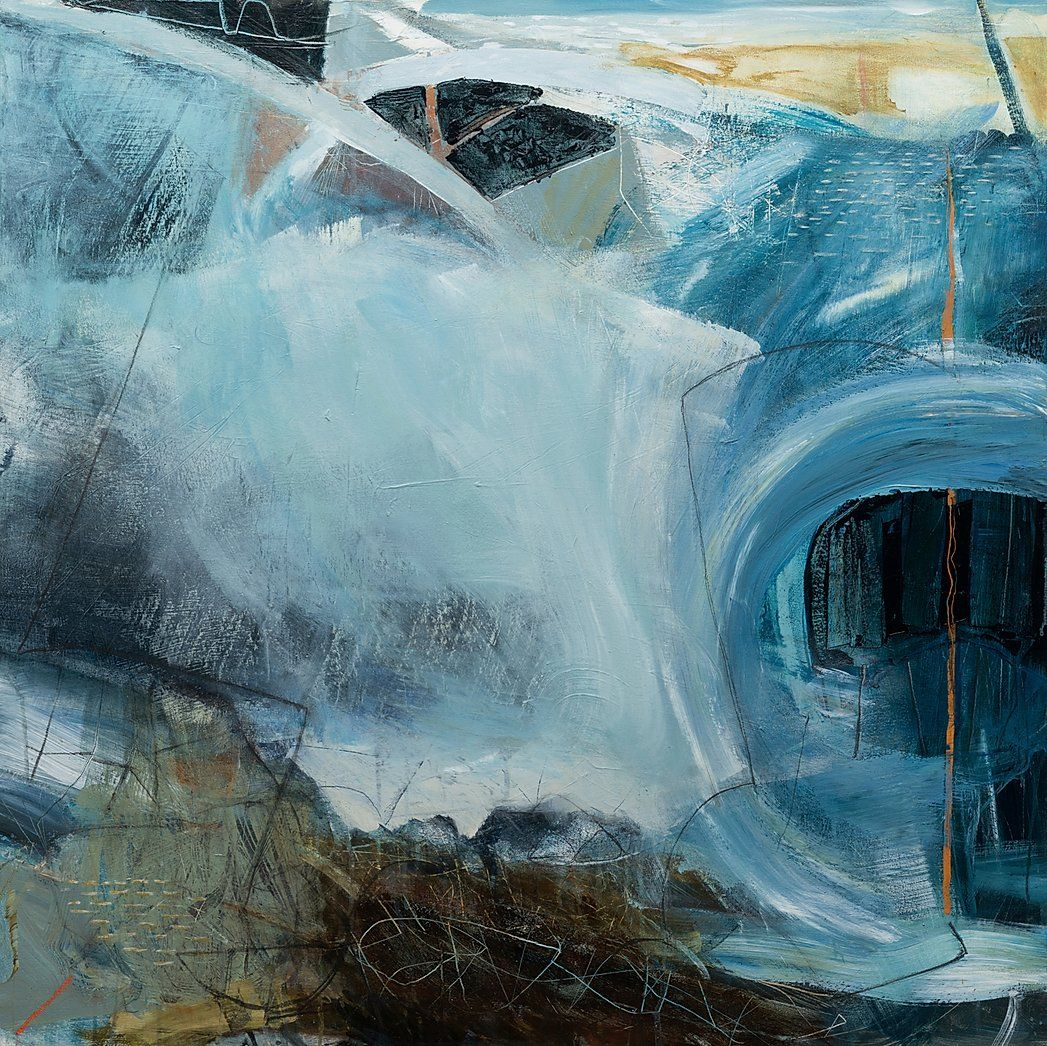 David Mankin Contemporary Abstract Artist Cornwall In 2020 Abstract Abstract Landscape Painting Abstract Artists