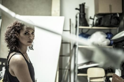 """#NenehCherry insists that she did not """"disappear"""" New album #BlankProject with #FourTet #Robyn Photo by #KimHiorthoy"""