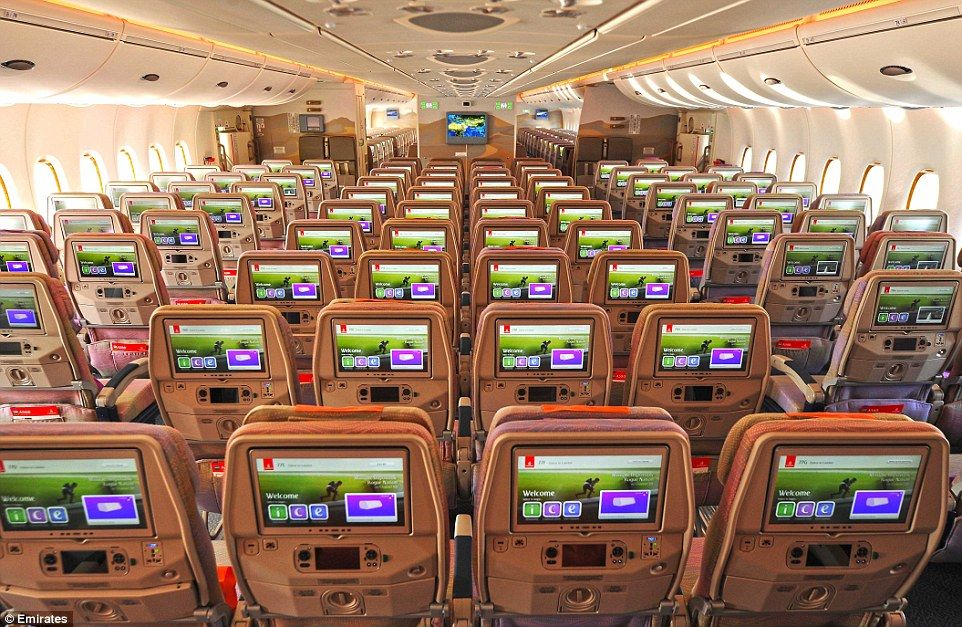 Emirates Unveils New Airbus A380 That Can Hold 615 Passengers