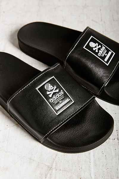 check out fe5b4 e3cad adidas Originals X Neighborhood Adilette Slide Sandal