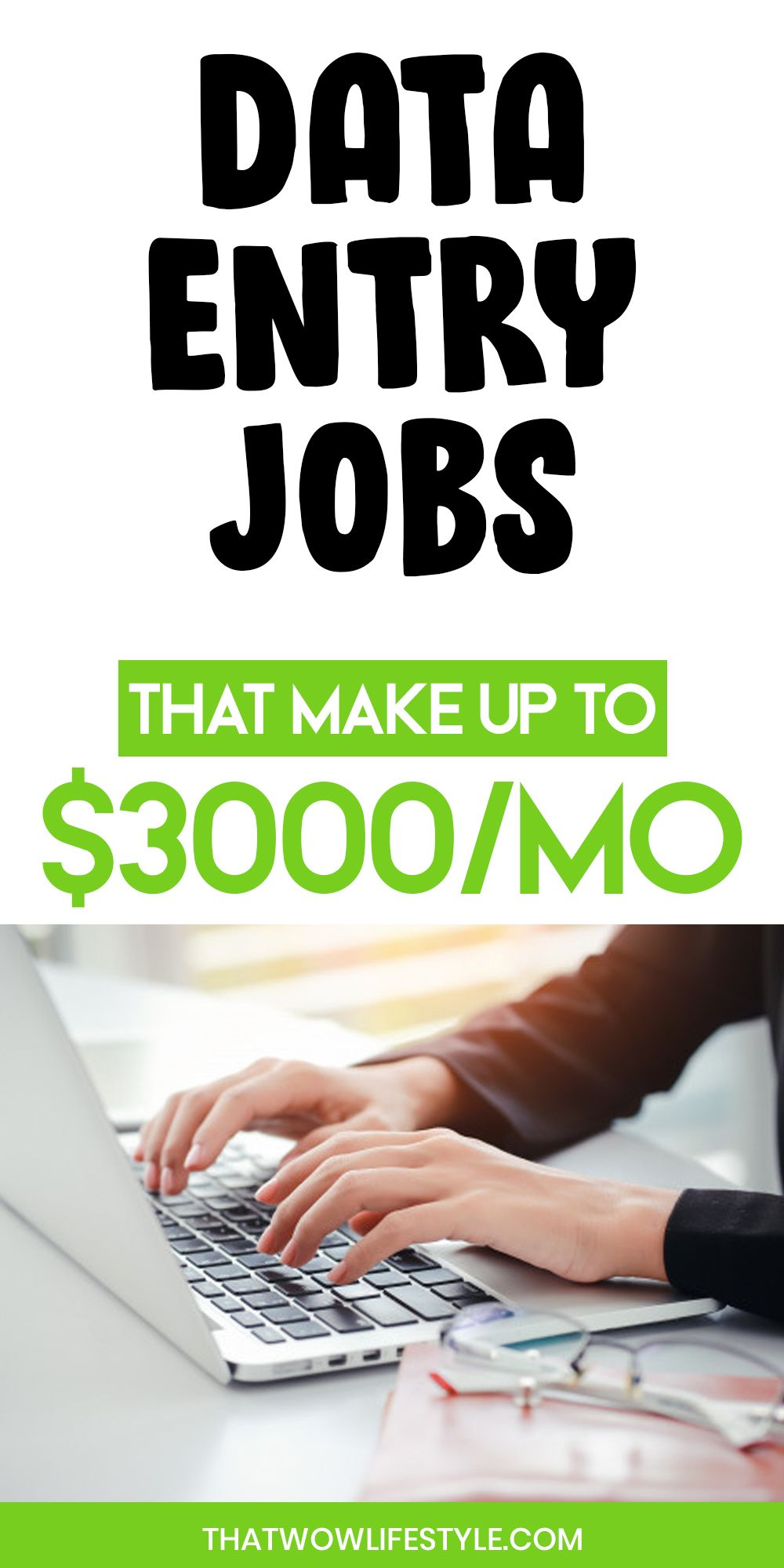 Best data entry jobs to earn money online from home in
