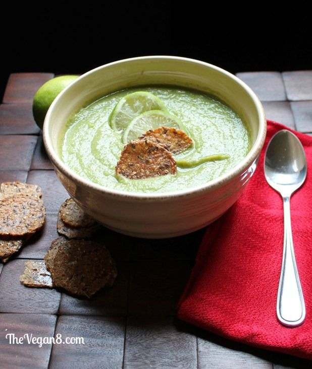 Cumin Lime Pea Soup. Only 6 ingredients! Vegan, Gluten-free, oil-free, nut-free.