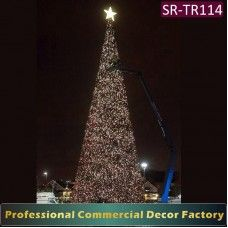 20/25/30/40/50 foot tall artificial christmas tree ...