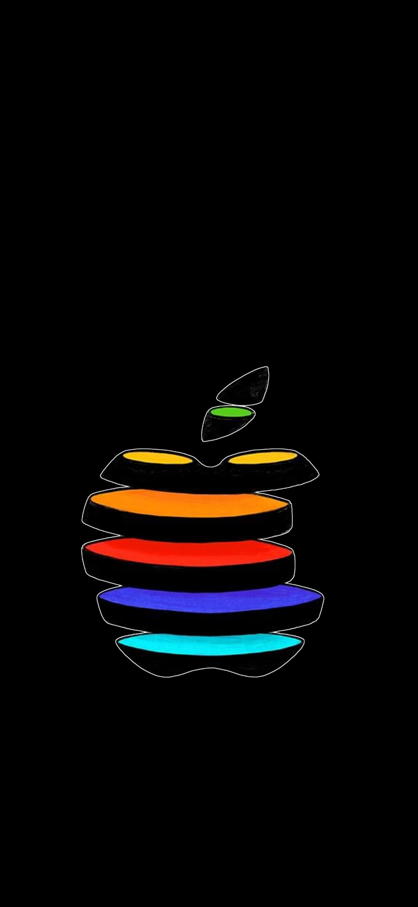 Apple Slices New Apple Event Apple logo wallpaper