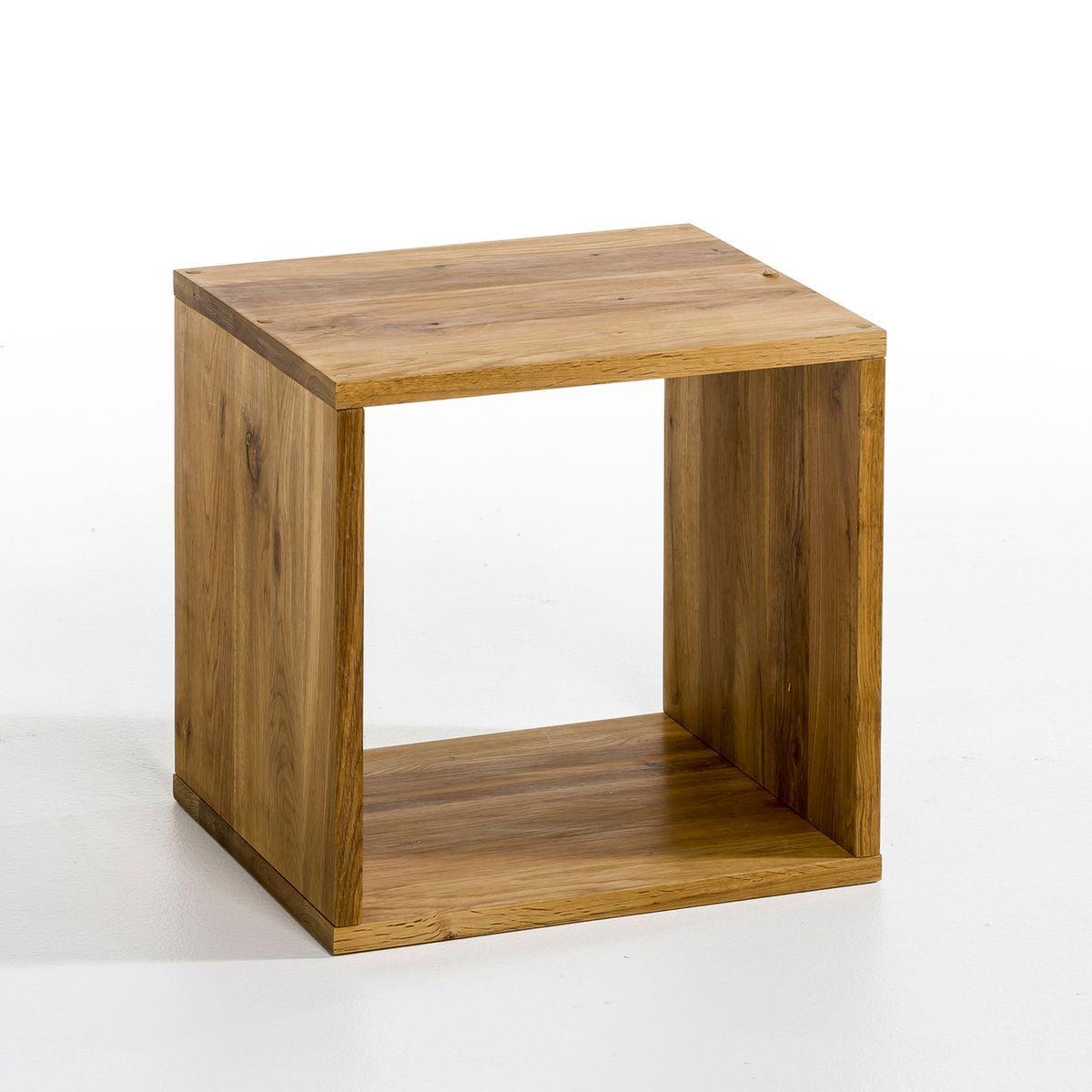 Cube de rangement chêne Box, 2 modèles | Cube rangement, Cube de rangement bois, Etagere cube bois