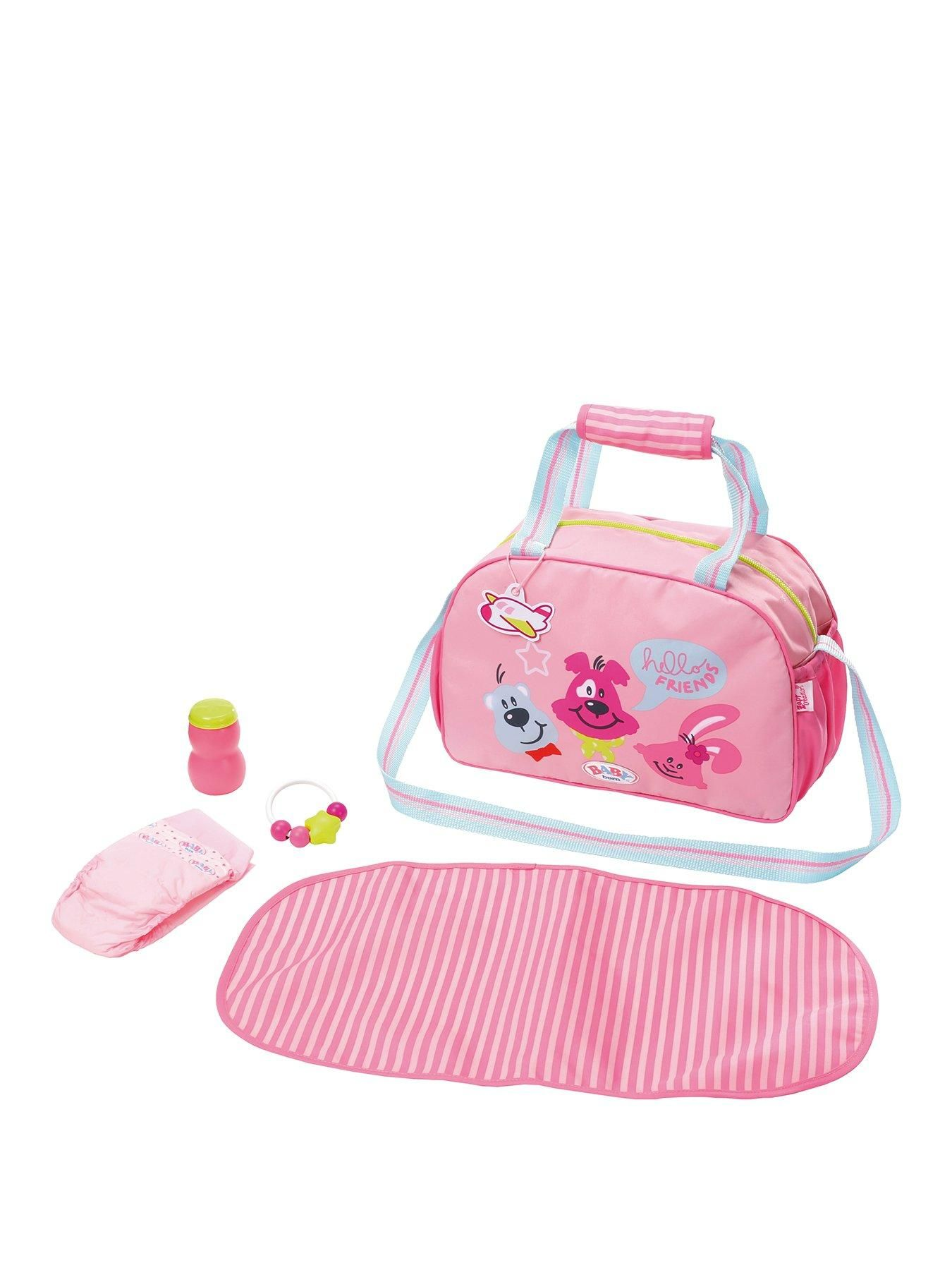 Baby Born Changing Bag With Images Baby Born Changing Bag Baby Doll Accessories