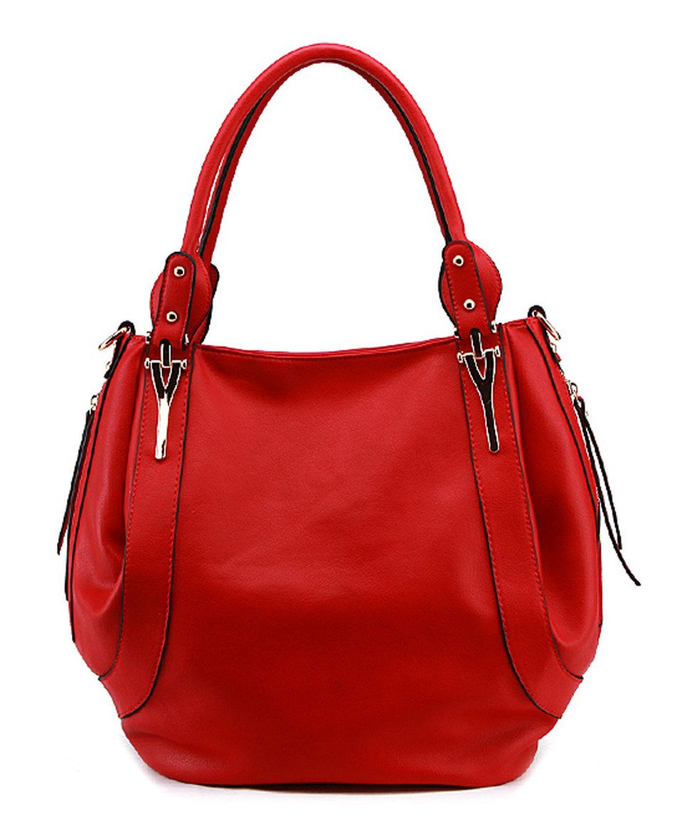 Love this MKF Collection Red Seamed Hobo by MKF Collection on #zulily! #zulilyfinds