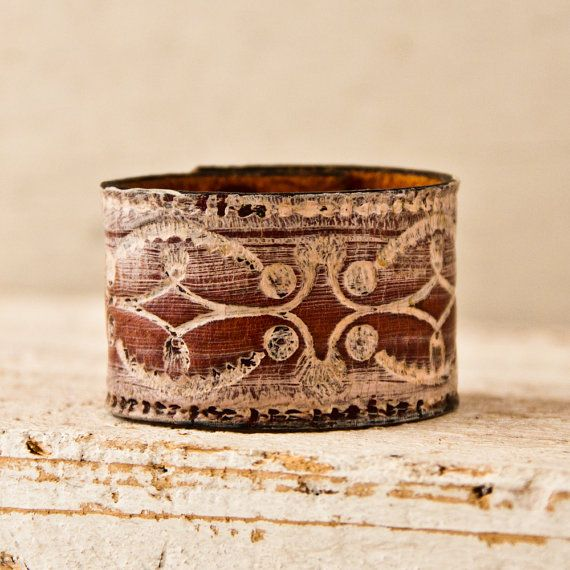 Southwest Jewelry Cuffs Leather Bracelets  by rainwheel, $38.00