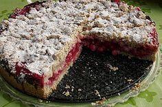 Feiner Johannisbeer - Streuselkuchen von fakessa | Chefkoch