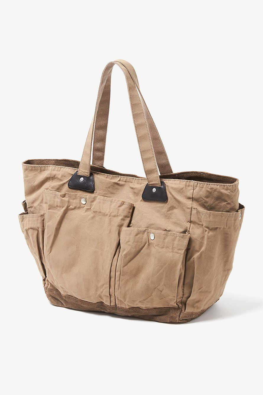 Hobo Truck Paraffin Coated Cotton Canvas 10 Utility Bag