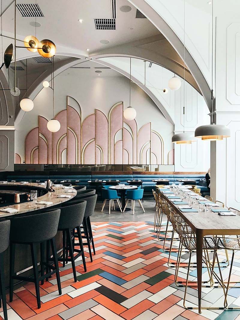 Art Deco Vibes at Oretta in Toronto - Eclectic Trends