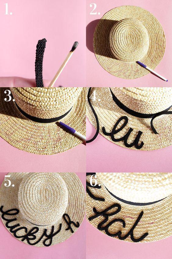 9e44901a4 10 increíbles accesorios para la playa que puedes hacer tú misma - Mujer de  10