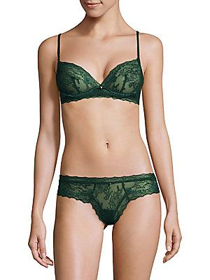 Best Prices Sale Online Eberjey Woman Lace Underwired Bra Dark Green Size 36 C Eberjey Clearance Very Cheap Authentic Cheap Online 4OakSpwEe