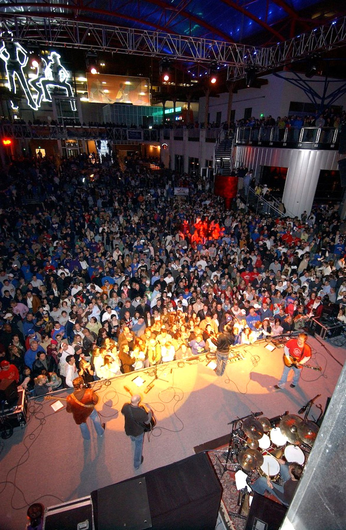 Explore Kansas City Power And Light District. Known For Its Citywide Watch  Parties, Huge