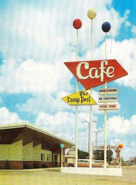 Classic mid-century restaurants