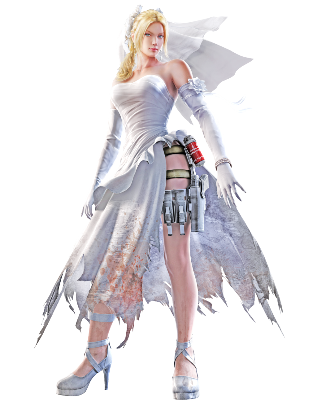 Image Result For Tekken 7 Nina Wedding
