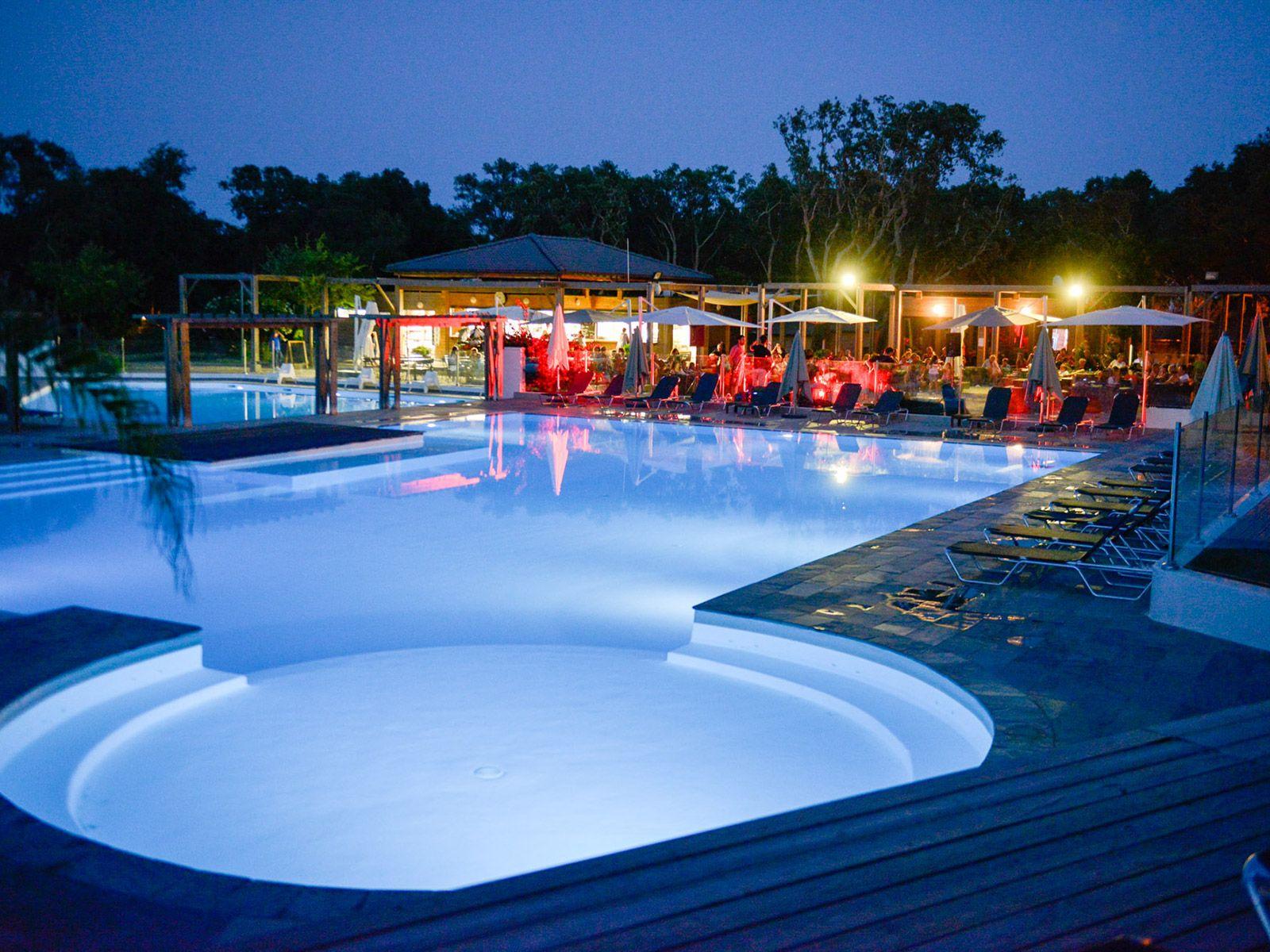 le campoloro camping corse bord de mer avec piscine