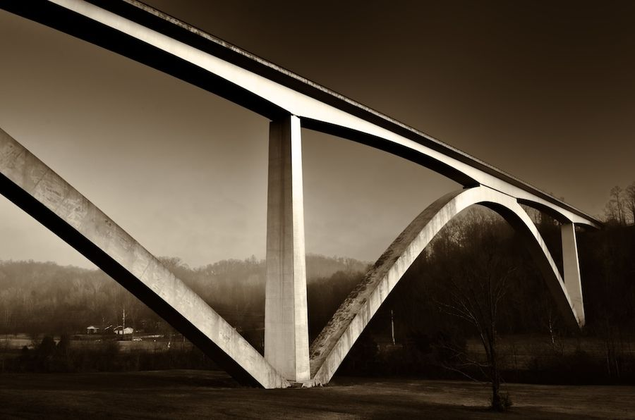 Natchez Trace Parkway Bridge, Williamson County, Tennessee