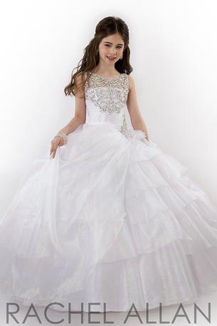 girls organza ball gown