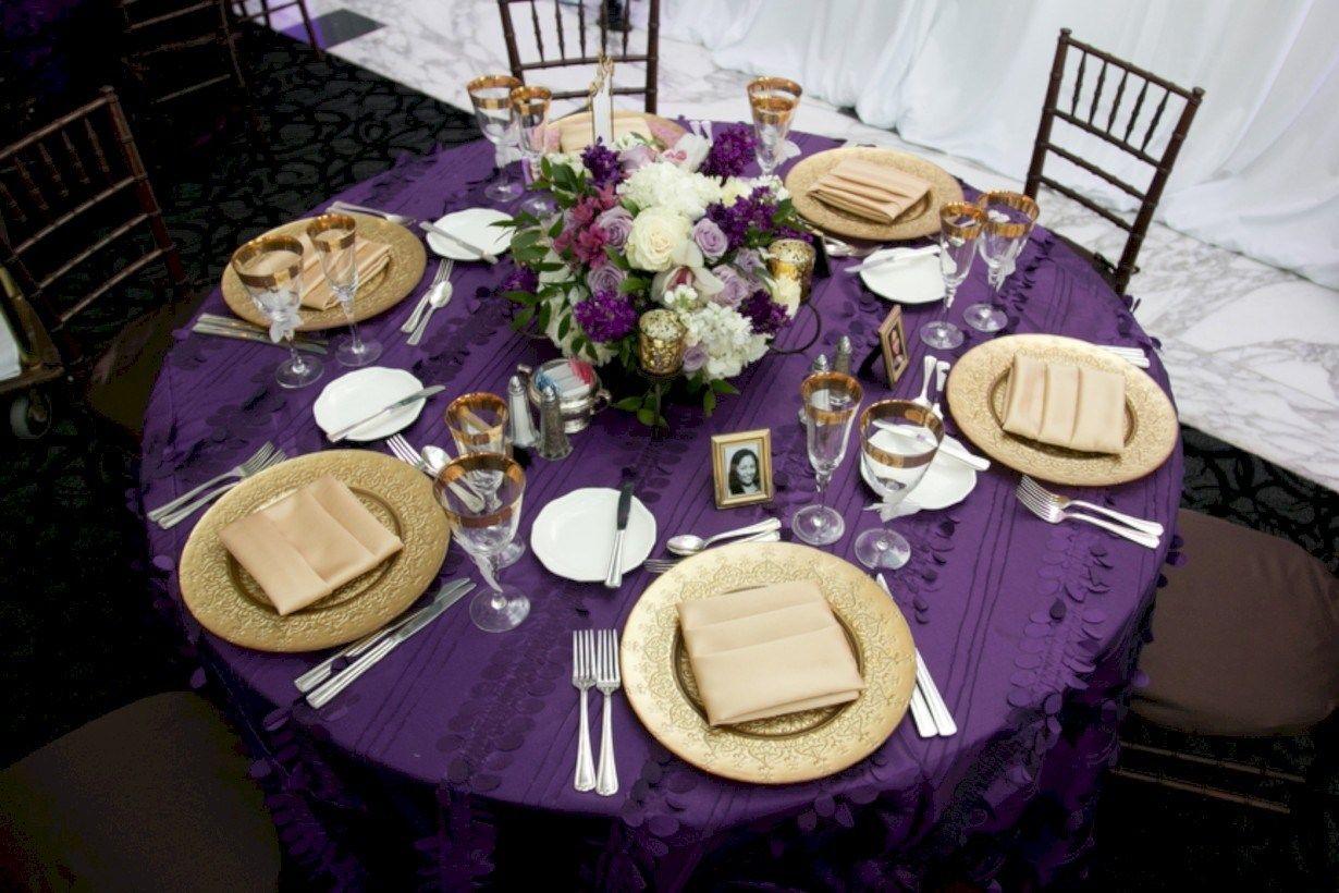 Gorgeous Purple And Gold Wedding Ideas 36 Purple Gold Wedding