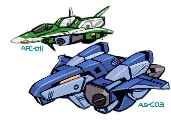 AS-C03 Condor and AFC-01H Legioss | Robotech macross, Robotech, Genesis  climber mospeada