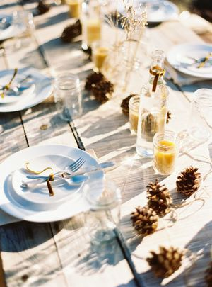 Harvest dinner party. Styling by Celeste Greene, photography by Brumley and Wells, settings by HeirloomsDurango.com