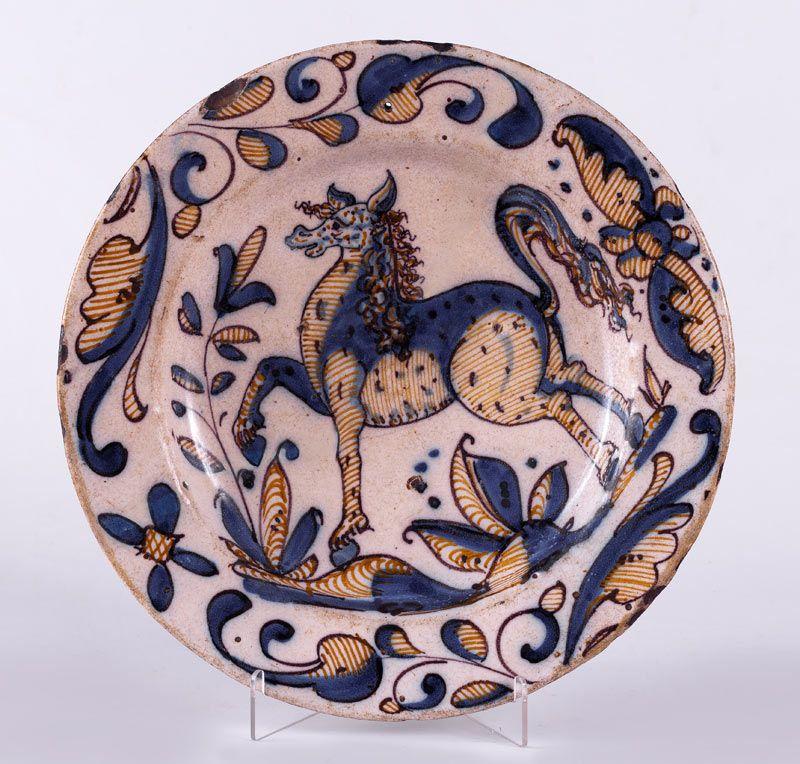 Talavera ca 1625 1650 spain mosaicos azulejos ceramica for Ceramica talavera madrid