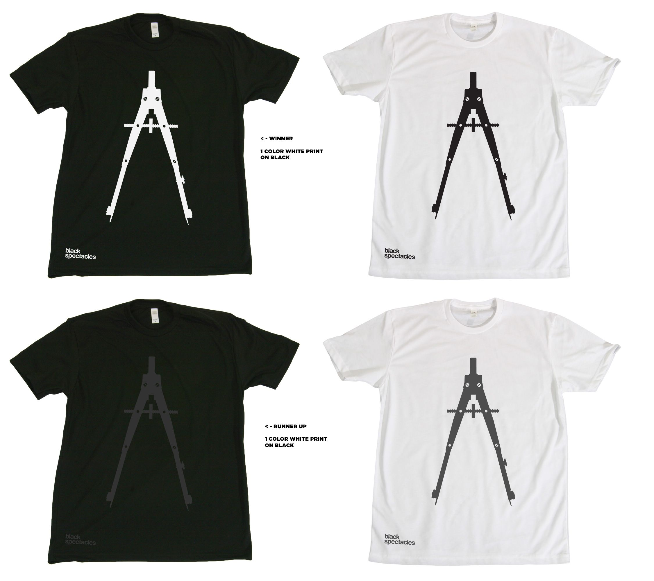 Black spectacles tshirt design architecture logo for Architecture t shirts